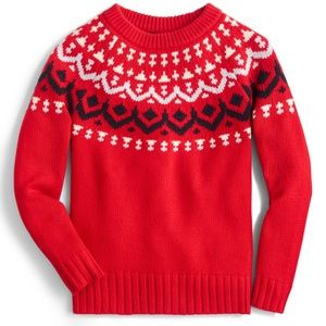 EUC JCrew Fair Isle Sweater - Sz S